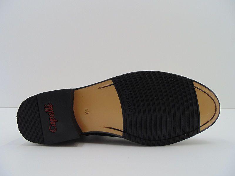 Bota Capelli Boots Em Couro Confort Elástica Costurada 780