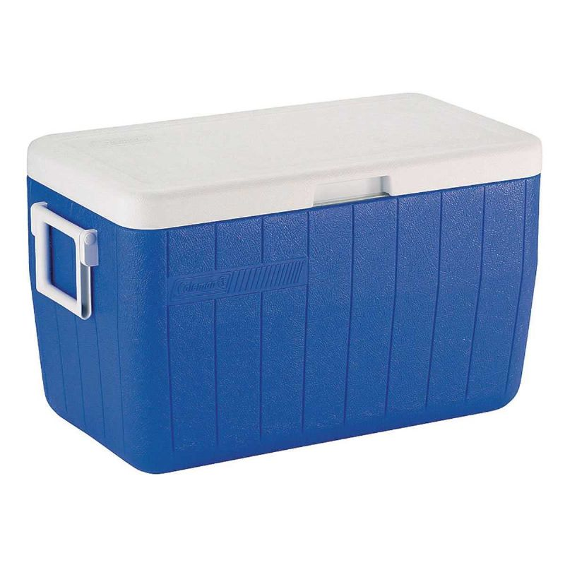 Caixa Térmica Coleman 45,4 Litros 64 Latas Alça Resistente Gelo 12hrs