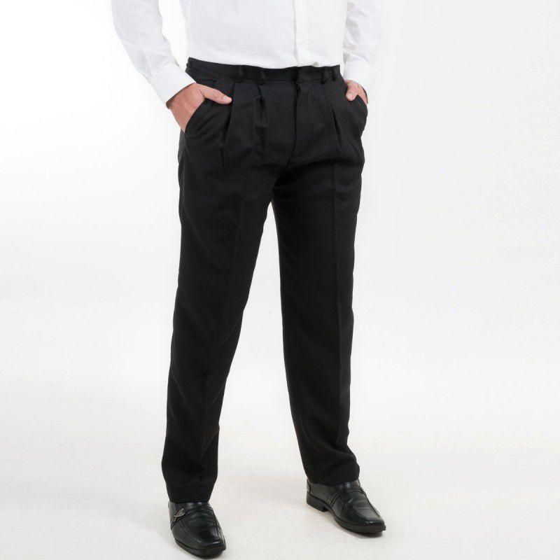 Calça Moda Homem Social Oxford Masculino Adulto