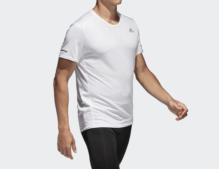 Camisa Adidas Run Tee M White CG1951
