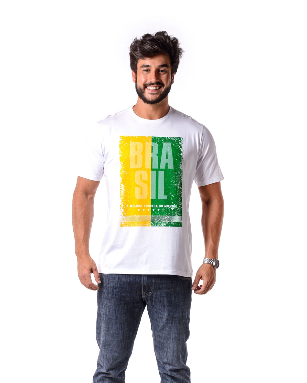 Camisa Braziline Brasil Tiete Licenciada Ad