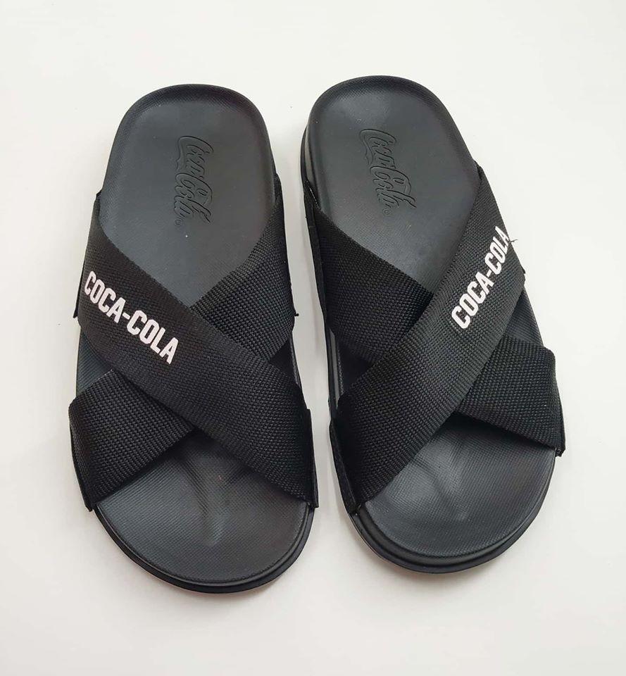 Chinelo Coca Cola Shoes Slide Tiras CC2824 Unissex