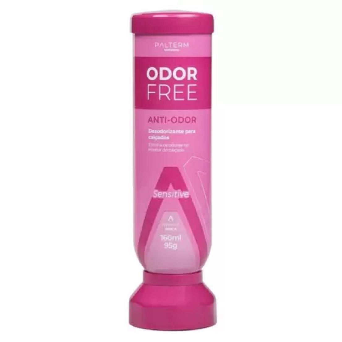 Desodorante Palterm Para os P¿s Odor Free Sensitive Feminino