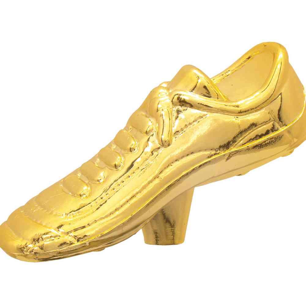 Estatueta Irmossi Chuteira Dourada Rosca
