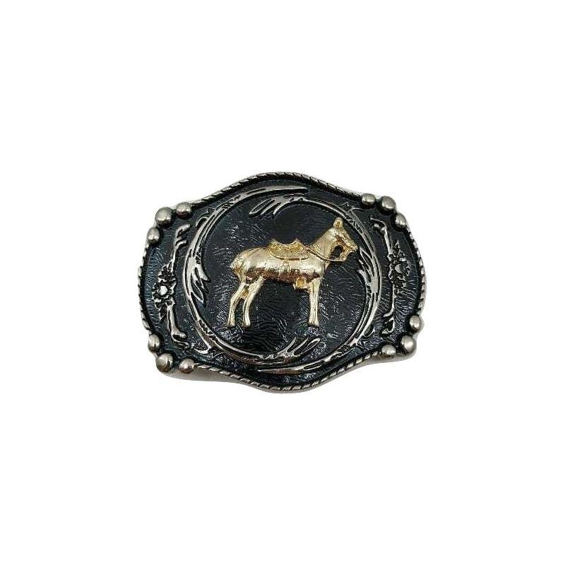Fivela Country Cavalo Infantil Unissex