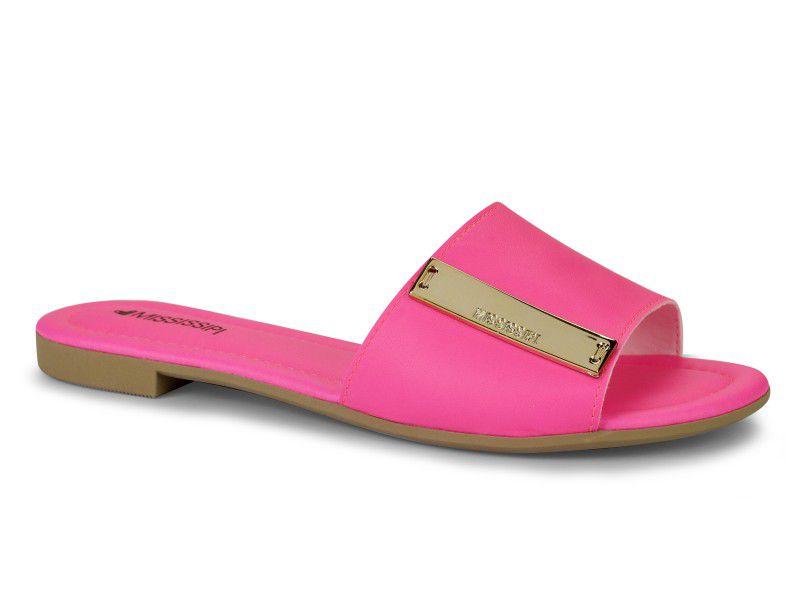 Rasteira Mississipi Slide Legacy Pink Neon x9811