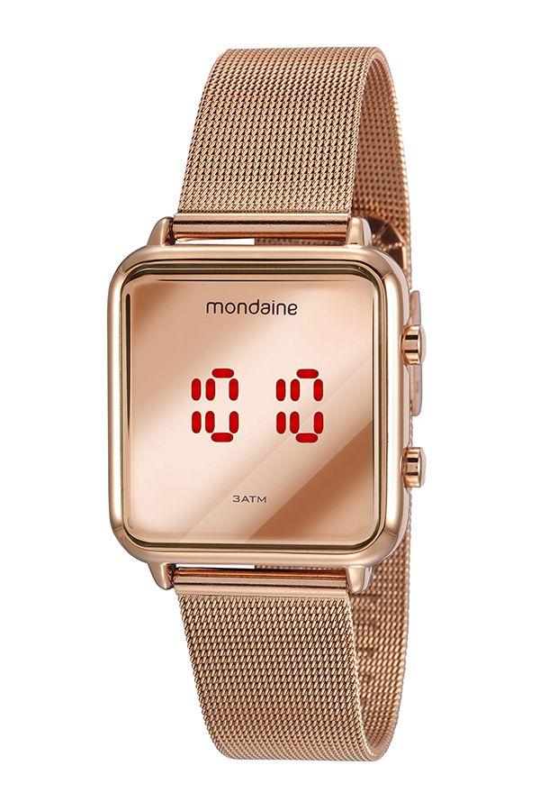 Relógio Mondaine Digital Feminino 32008MPMVRE2