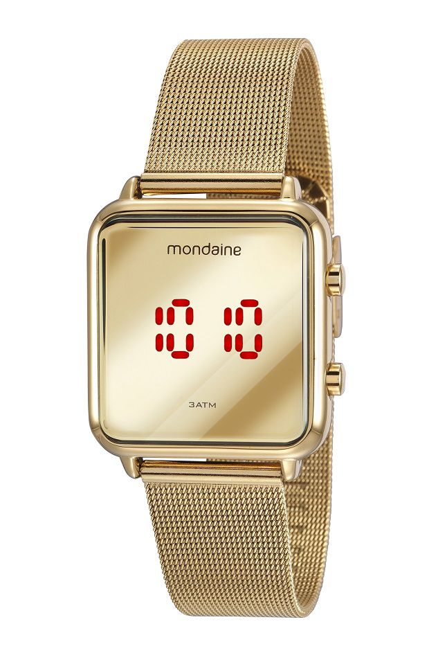 Relógio Mondaine Digital Feminino Adulto 32008MPMVDE1
