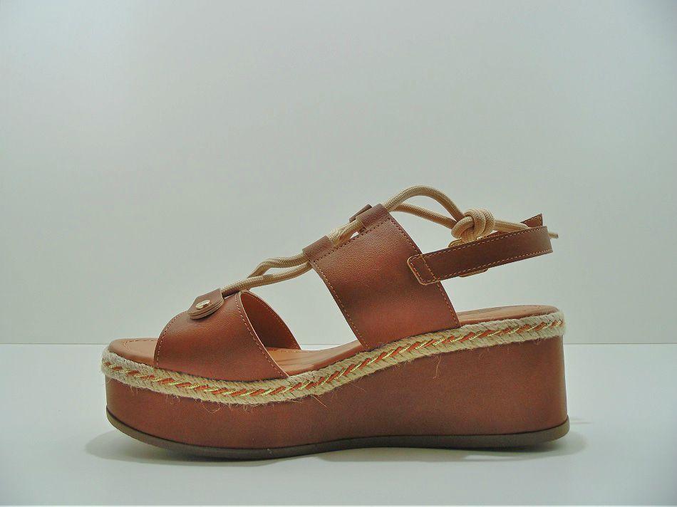 Sandália Plataforma Bebecê Delicada Confort 4019-106