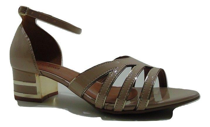 Sandália Via Gata Saltinho 3,5cm Feminino Adulto 26.1008