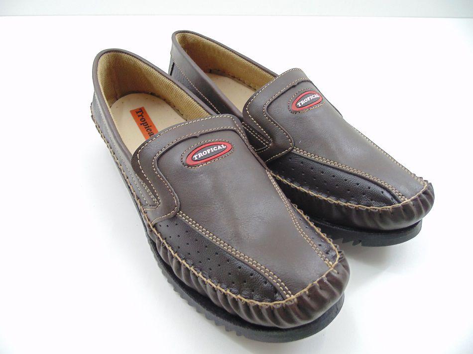 Sapato Mocassim Sapatilha Tropical Masculino Adulto Tradicional