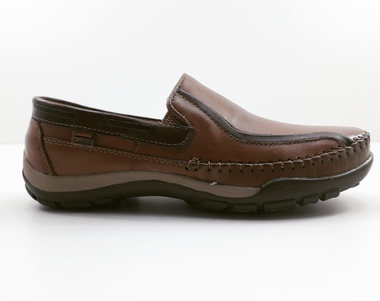 Sapato Mocassim Tertuliano Salto Grosso Masculino Adulto 088