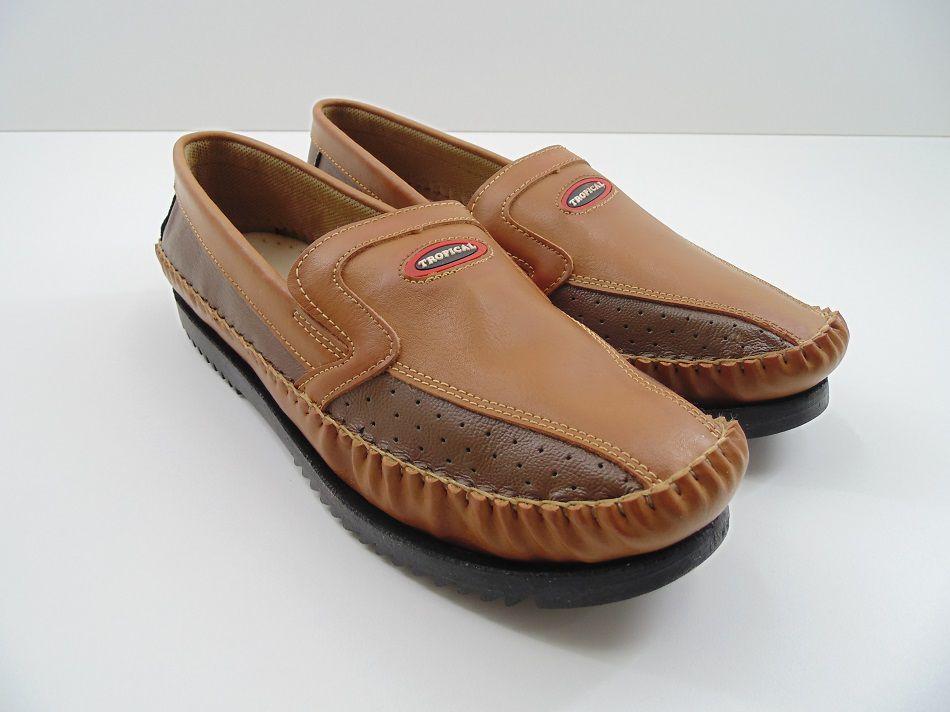 Sapato Sapatilha Mocassim Tropical Masculino Adulto Tradicional