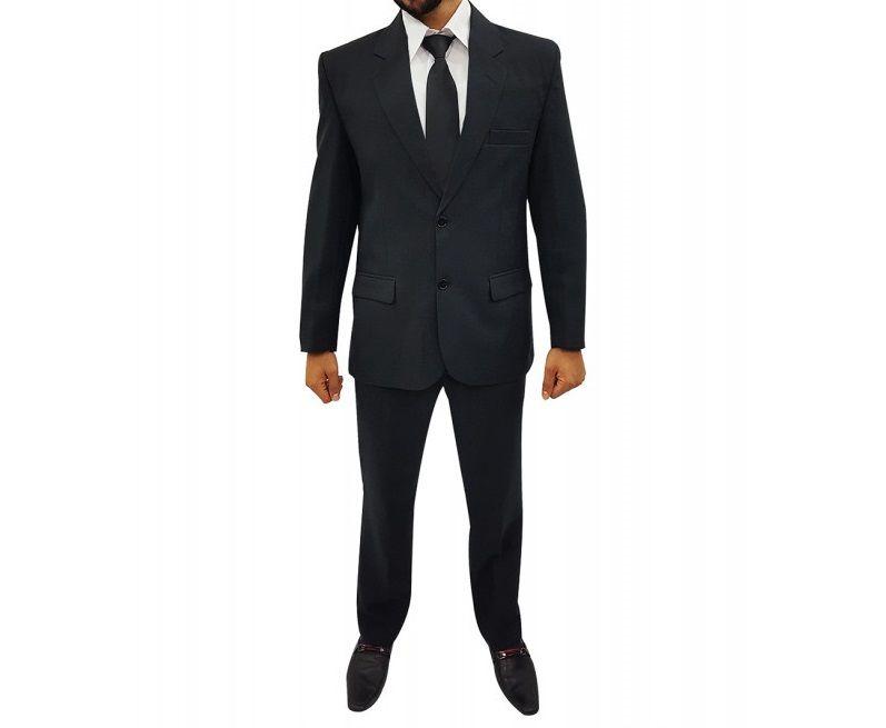 Terno Wl Micro Slim Preto Masculino Adulto Calça Blaser