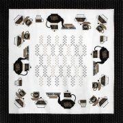 Toalha de Mesa Quadrada  - 3006V01