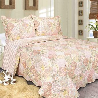 Colcha Evolution Patchwork Queen - Pristi
