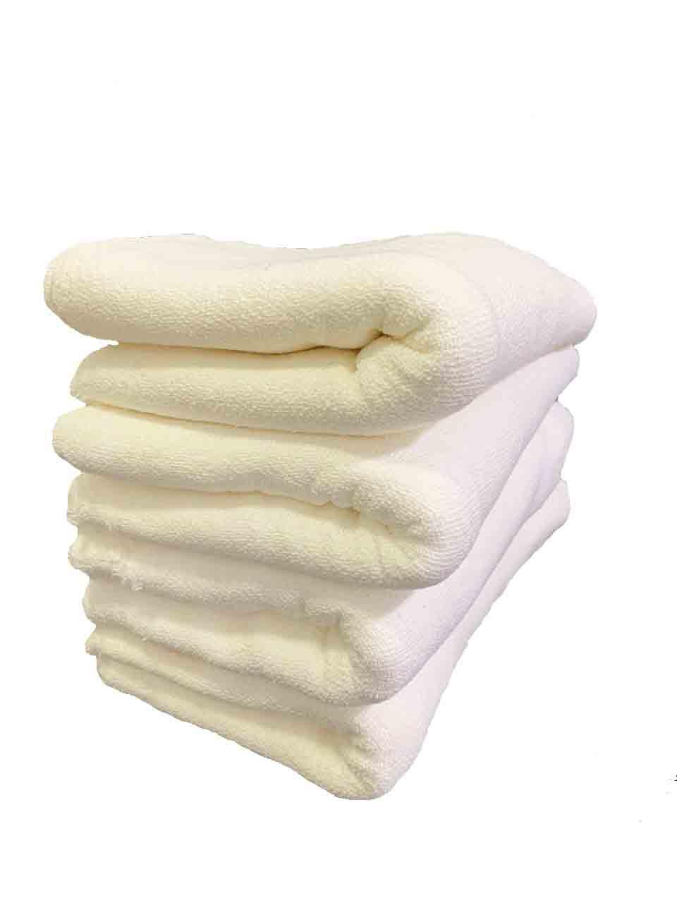 Pano de Chão Alvejado Branco Fábrica 10 - Kit com 50 Peças ESPECIAL ATACADO