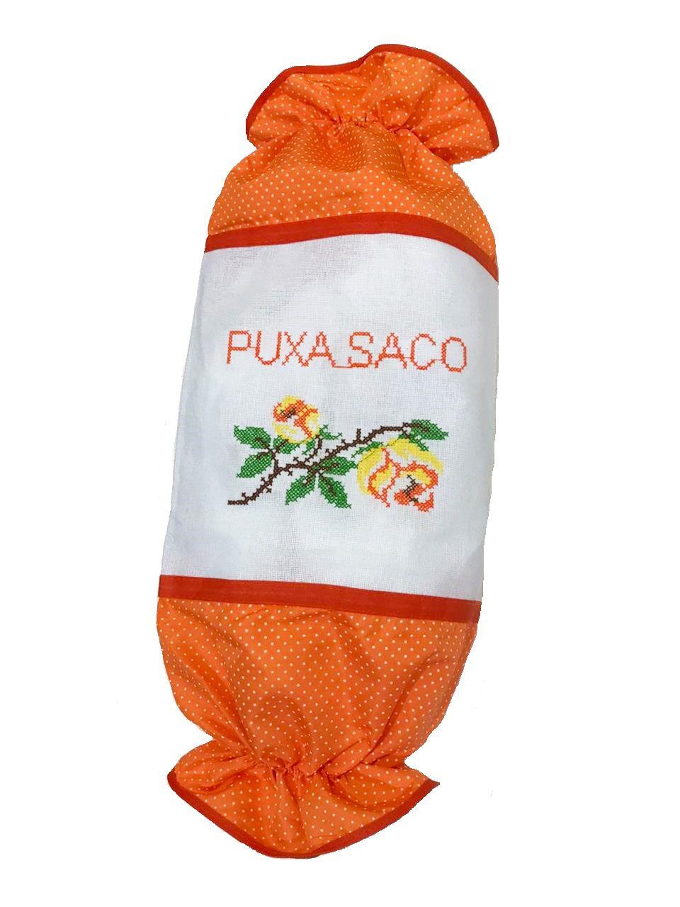 Puxa Saco Oxford - Flores