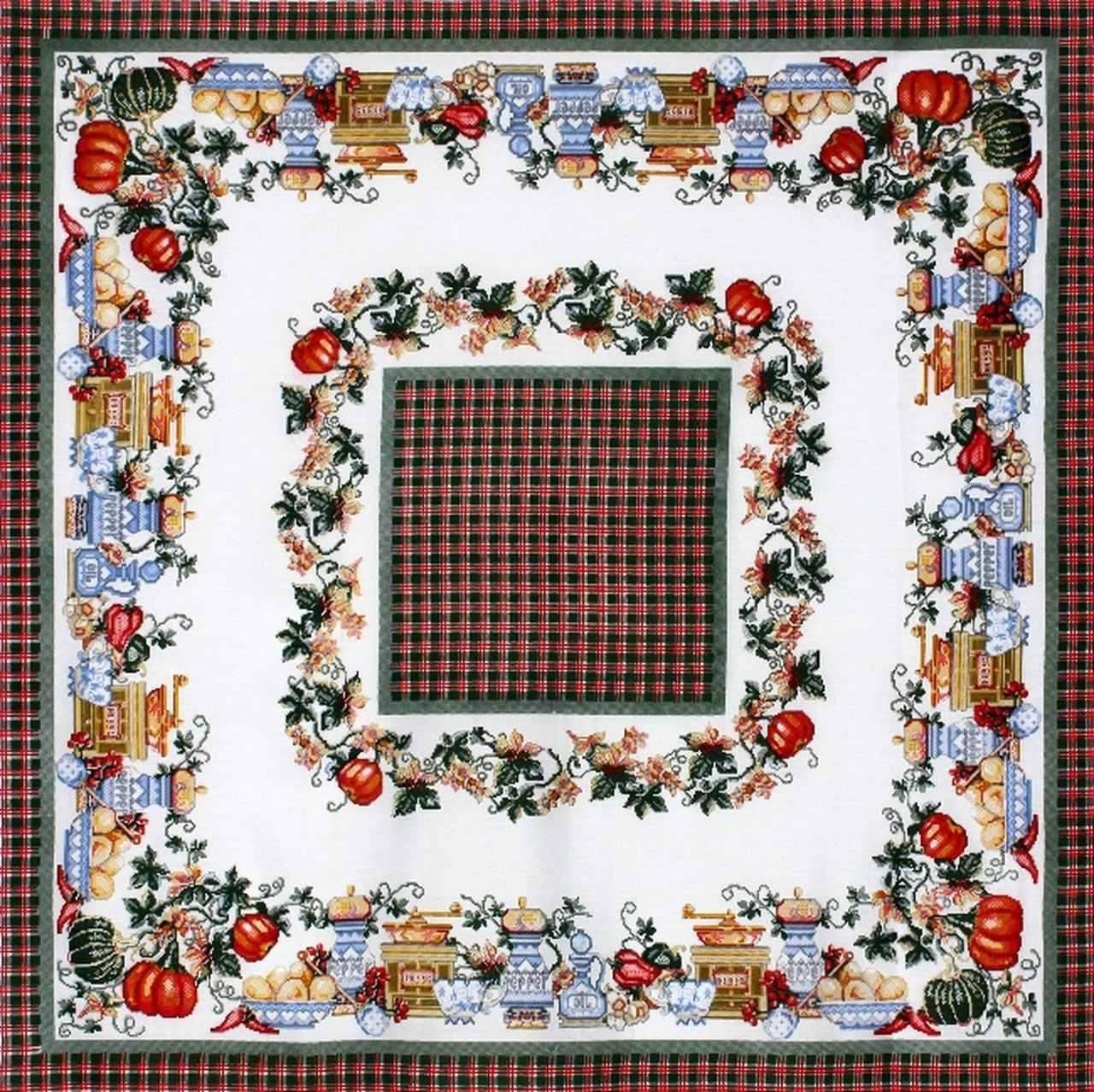 Toalha de Mesa Quadrada  - 398V01