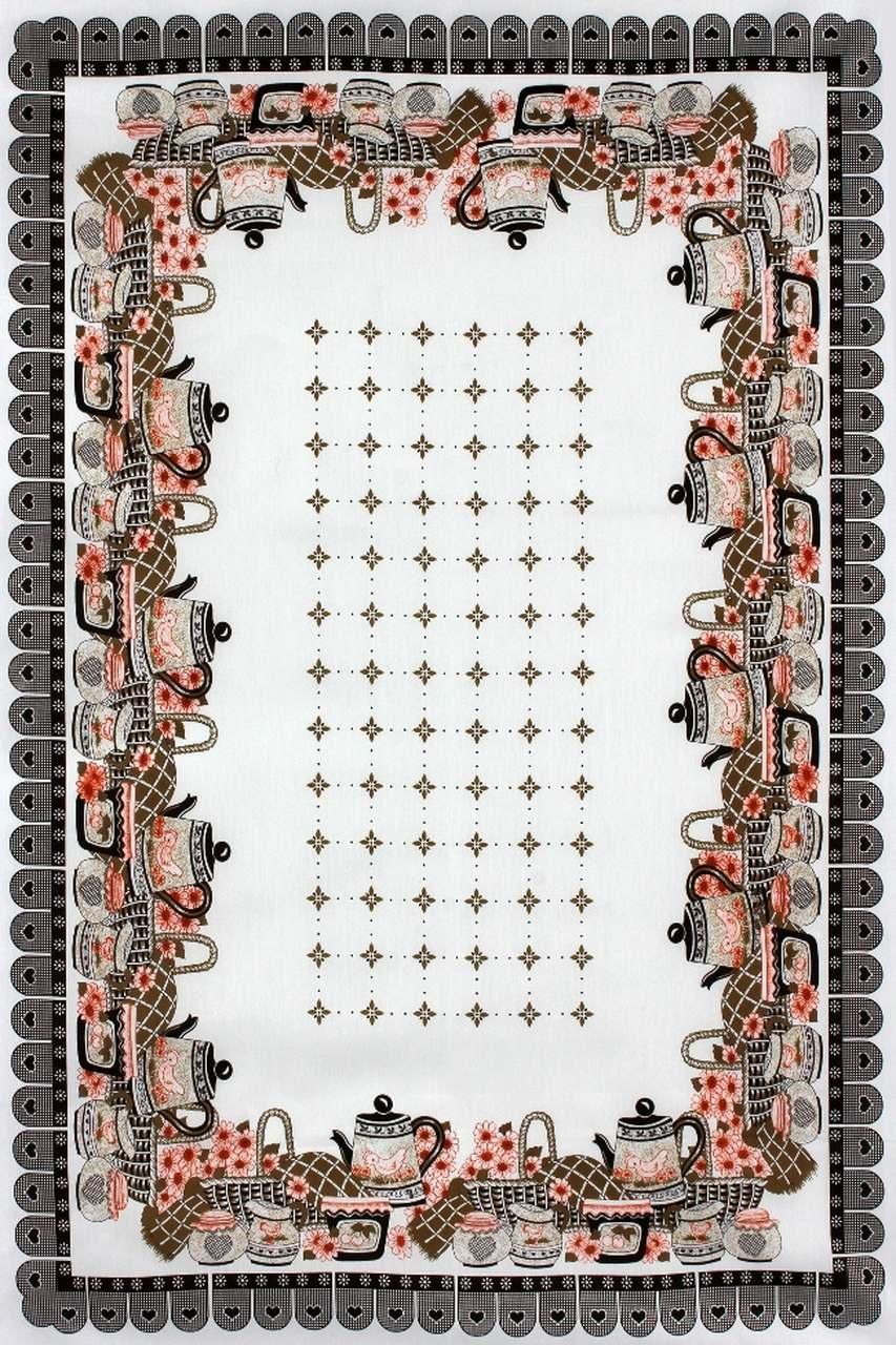 Toalha de Mesa Retangular  - 3001V06