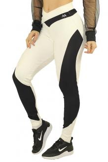 Calça Legging Jacquard Fitness Para Academia Tamanhos P M G