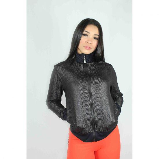 Jaqueta Black Leather
