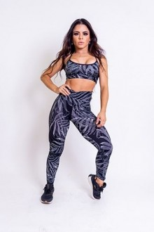 Legging Cirrê Estampada