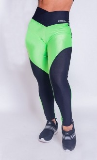 Legging Collor Fluor Green