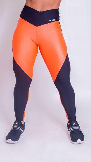 Legging Collor Fluor  Orange