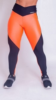 Legging Collor Fluor  Orange