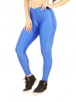 Legging de Cirrê Blue 3D