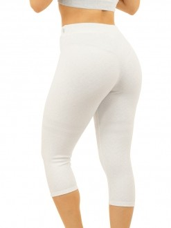 Legging Jacquard White