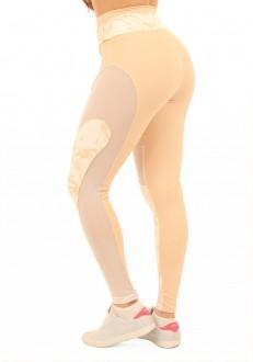 Legging Nude Tule
