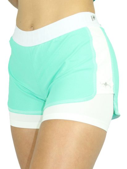 Shorts Colmeia Green