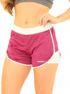 Shorts Sobreposto Jacquard