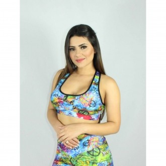 Top Nadador Estampado