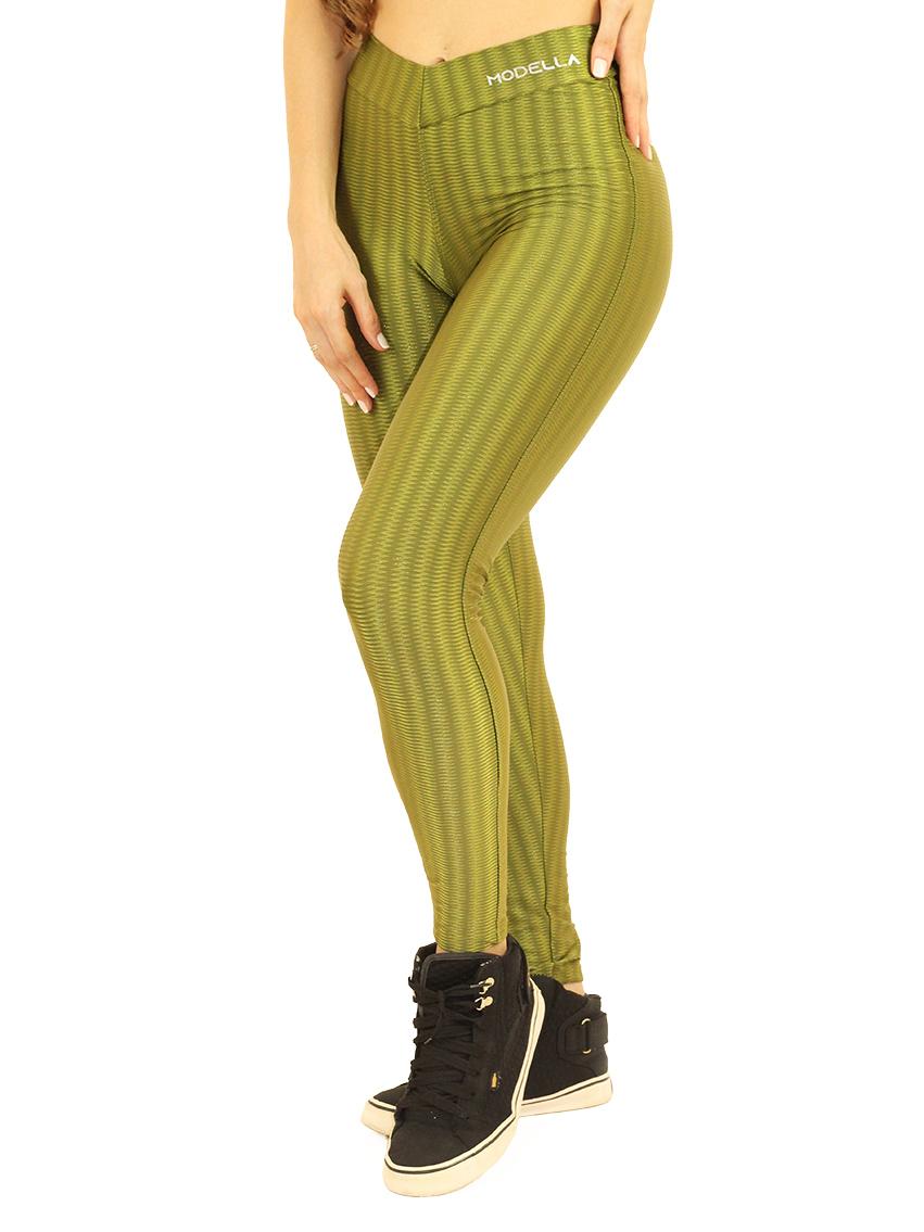Legging de Cirrê Green 3D