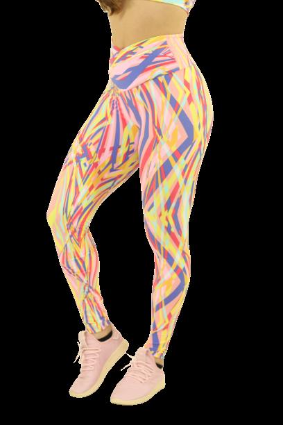 Legging Estampada Colorful
