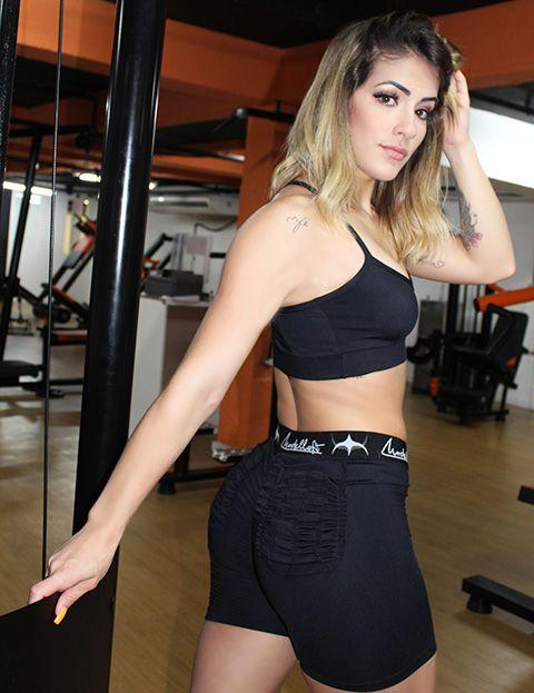 Shorts Bolso Franzido
