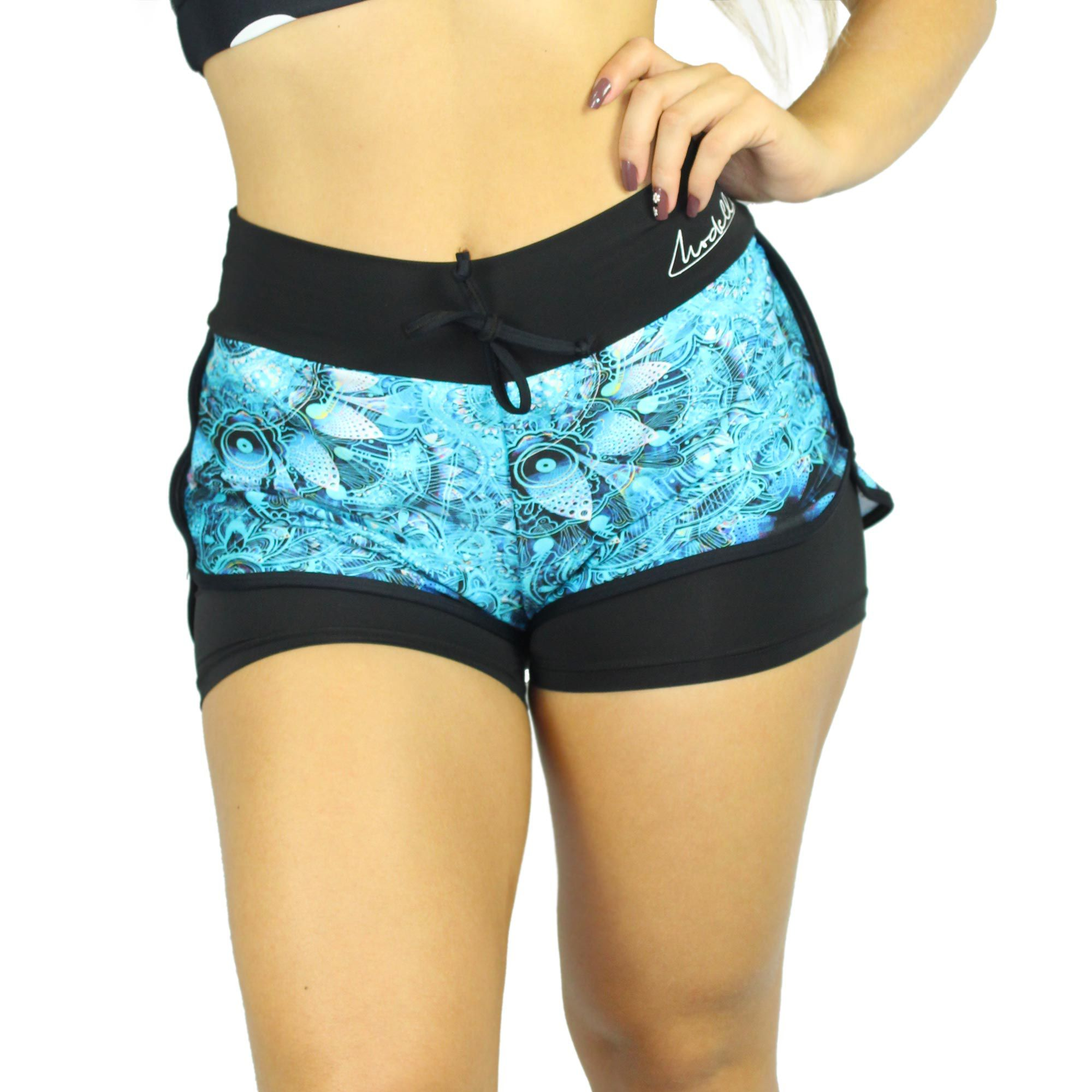 Shorts estampado de Light Blue