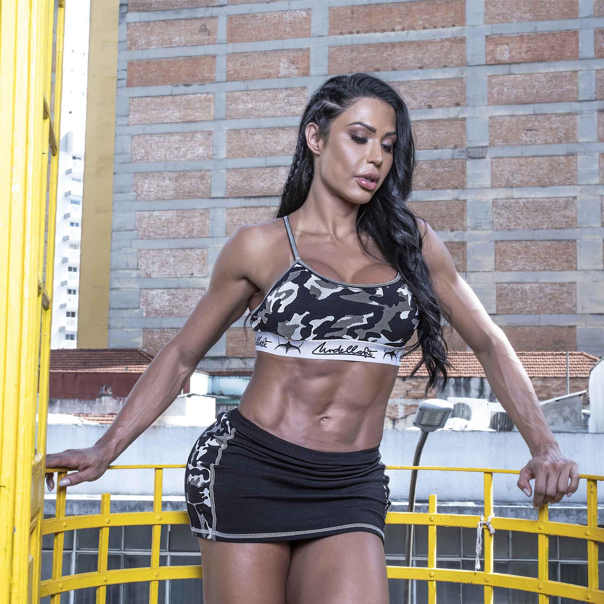 Shorts Saia Army - Gracyanne Barbosa