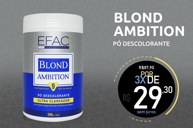 pó descolorante blond ambition