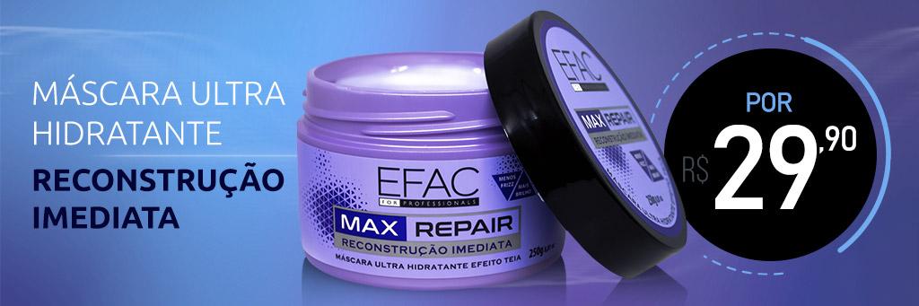mascara de reconstrução imediata max repair efac for professionals