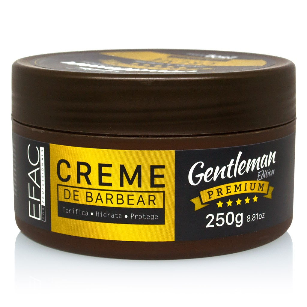 Creme de barbear Gentleman Edition Premium 250g