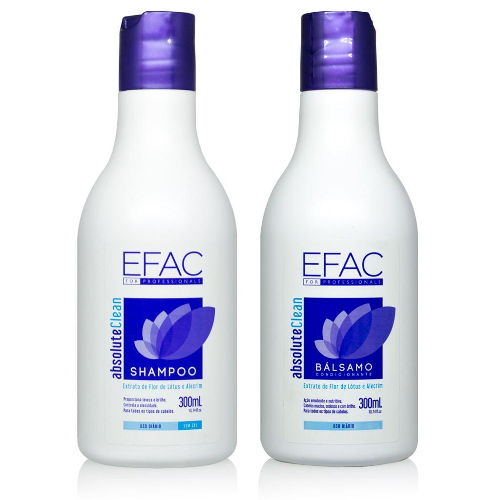 Kit Absolute Clean - 300ml Cada (Shampoo + Condicionador)