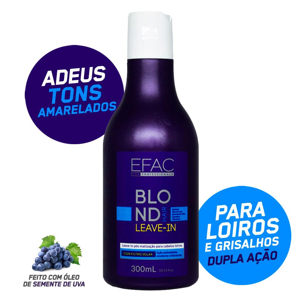 Leave-in Blond Hair - Pós Matização 300ml