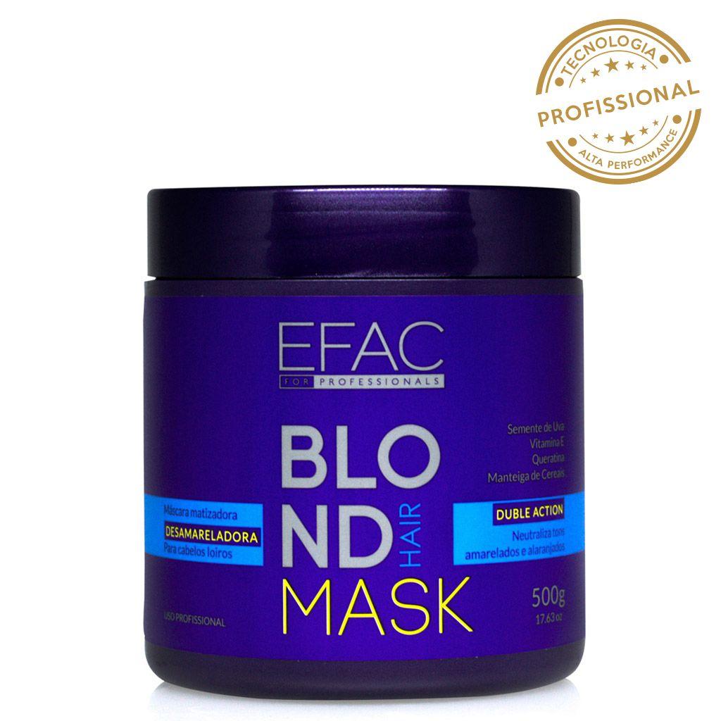 Máscara Matizadora Blond Hair 500g