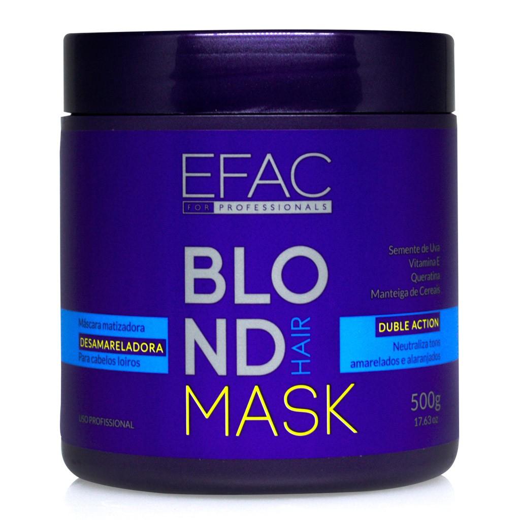 Máscara Matizadora Blond Hair - 500g
