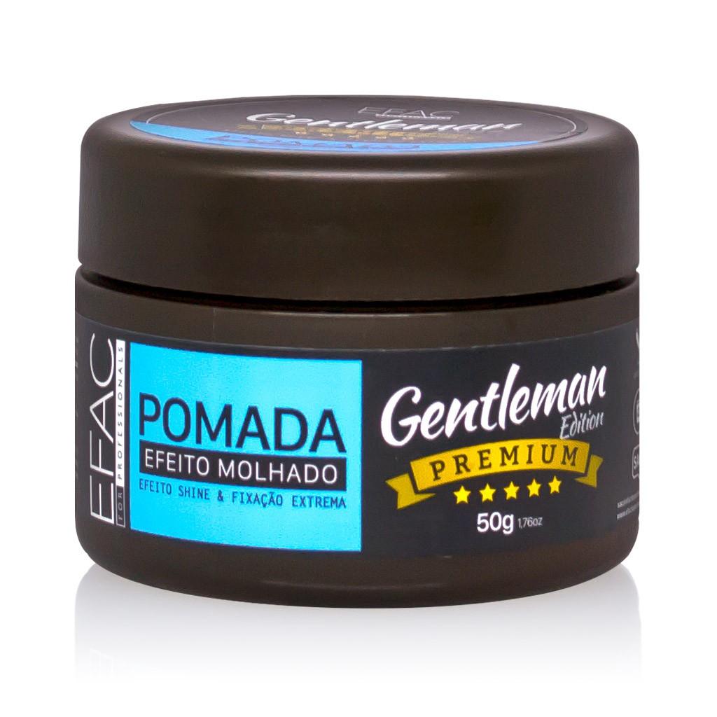 Pomada Modeladora Efeito Molhado Gentleman Edition Premium 50g