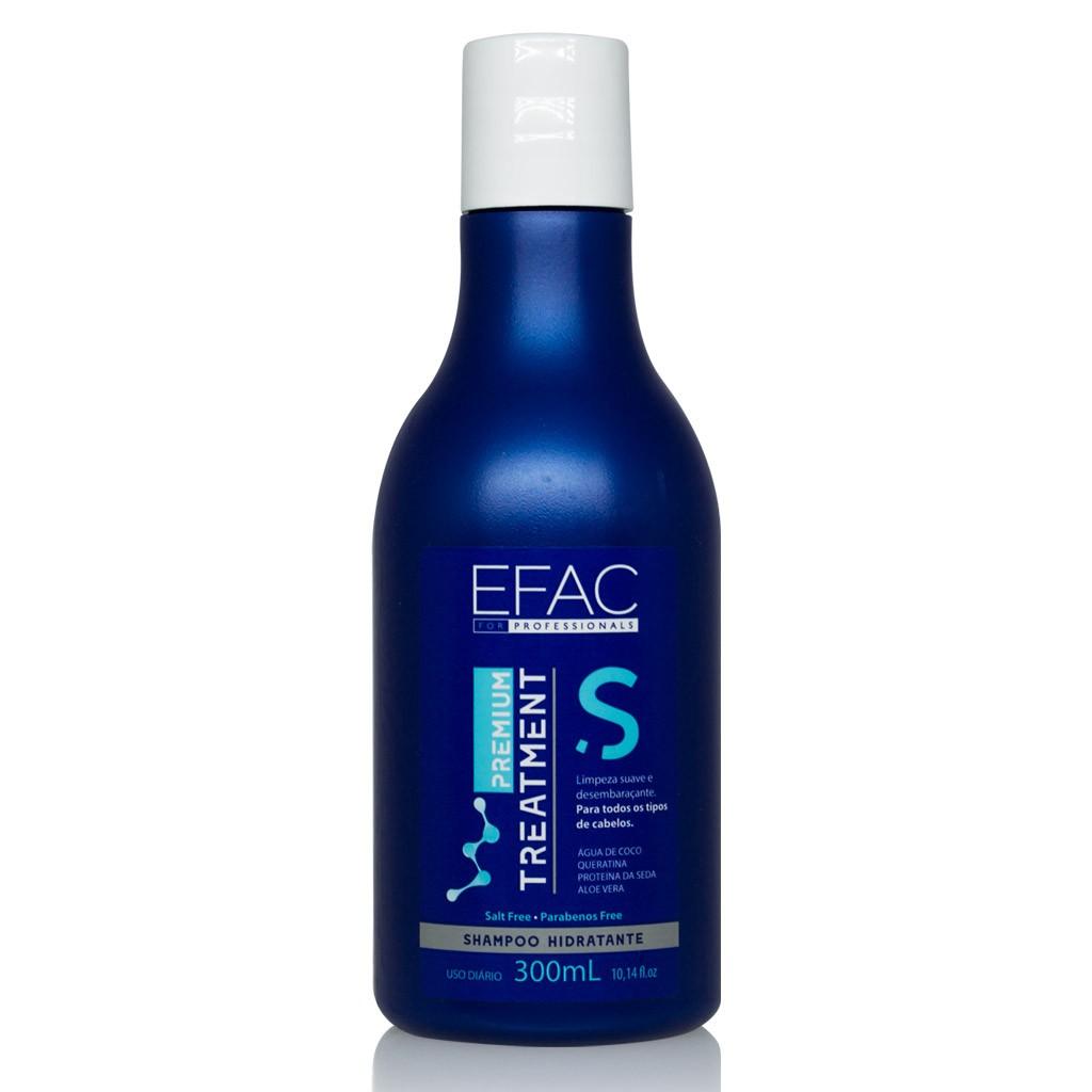 Shampoo Hidratante Premium Treatment - Com Água de Coco 300ml